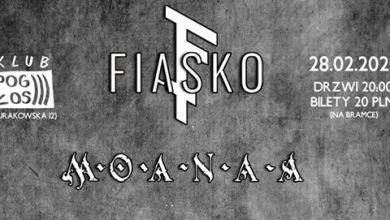 Photo of FIASKO x Moanaa, Pogłos, 27.02.2020