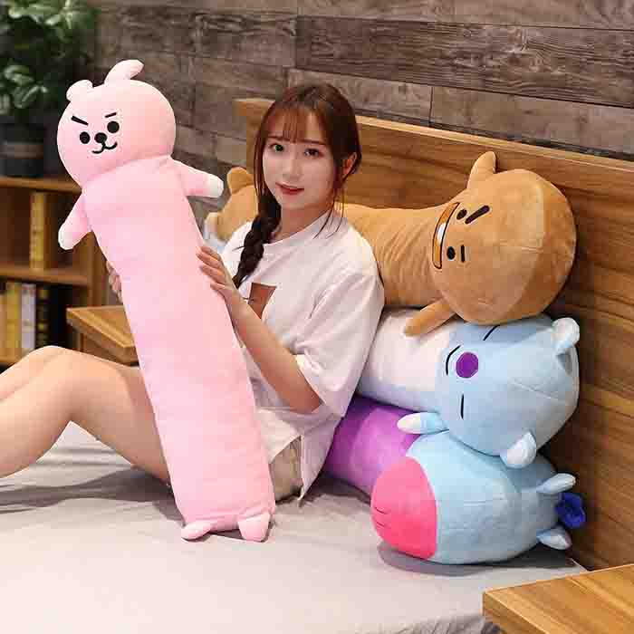 bt21 x long body pillow bt21 x long