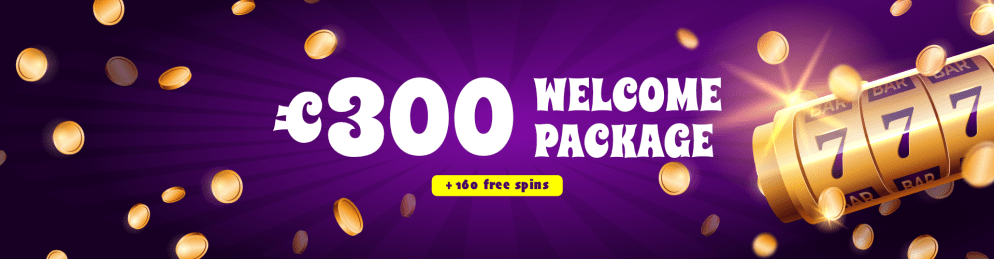 300 EUR Welcome package