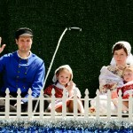 Dutch Family on Parade