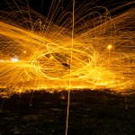 Light Painting Outdoor