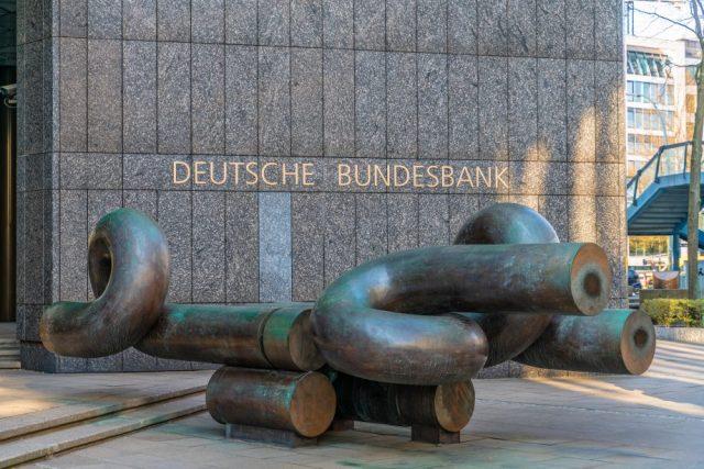 Fassade der Deutschen Bundesbank