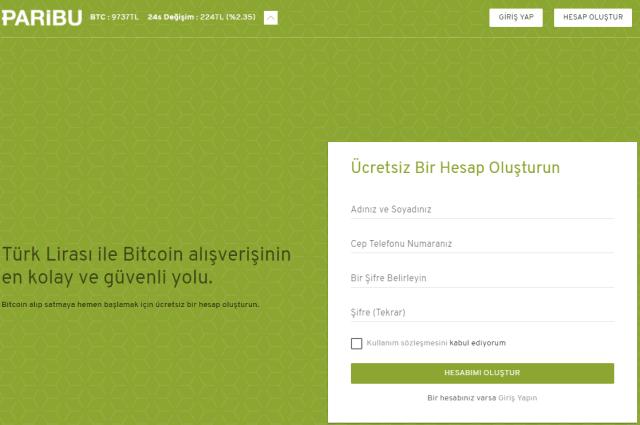 paribu ana sayfa - Paribu Bitcoin Bölünmesi Konulu Bilgilendirme