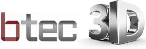 Btec 3D logo