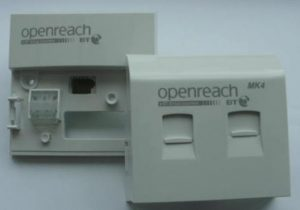 BT master sockets have vdsl plates fitted to them.
