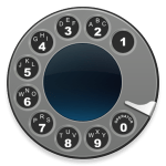 Telephone services with a Telephone Rotary Dialer