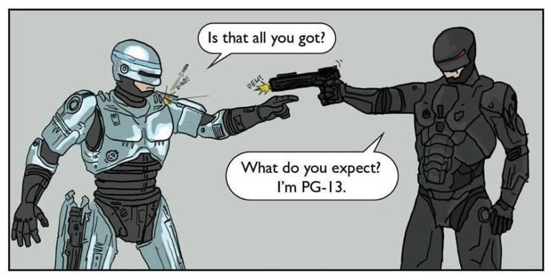Robocop 2014 PG 13