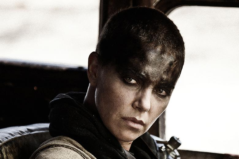 Furiosa played by Charlize Theron