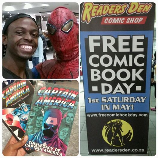 Tendai Free Comic Book Day