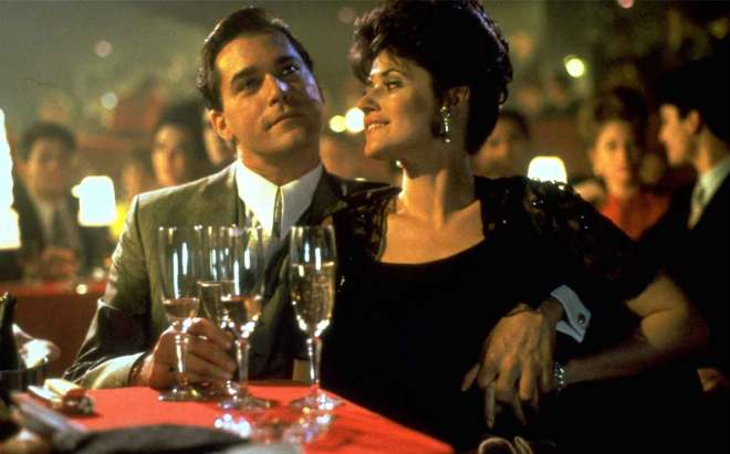 GoodFellas (1990) Directed by: Martin Scorsese Shown: Ray Liotta (as Henry Hill), Lorraine Bracco (as Karen Hill)