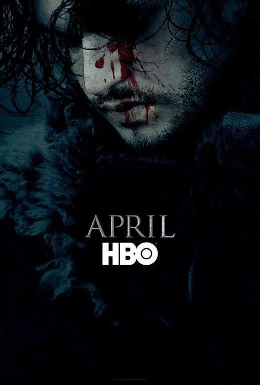 Game of thrones Season 6 Poster Jon Snow