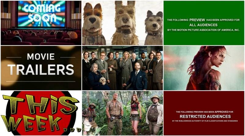 Movie Trailers September 2017 - Tomb Raider Isle of Dogs The Punisher - BTG Lifestyle Movie Blog