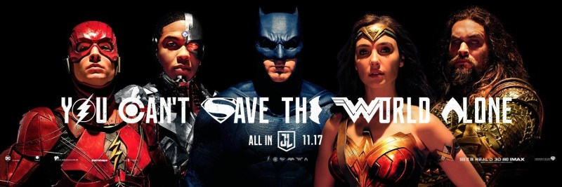 The Justice League - You Can't Save the Worlf Alone