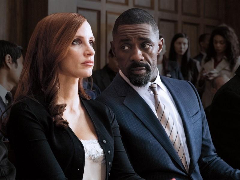 Idris Elba - Jessica Chastain - Molly's Game