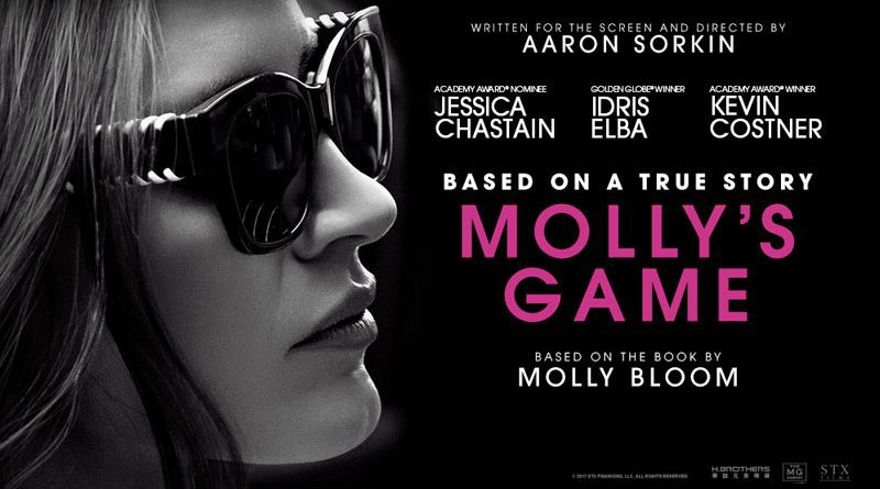 Molly's Game Poster - Jessica Chastain