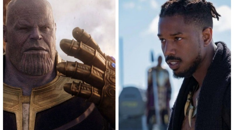 Thanos and Killmonger - Marvel's Year of Villains - BTG Lifestyle - Tendai Sibindi