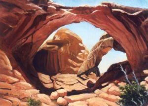 Utah's Double Arch