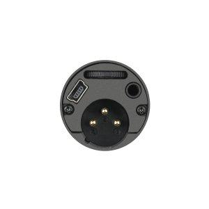 منفذ USB و XLR ومدخل السماعة لمايك Audio-Technica AT2005