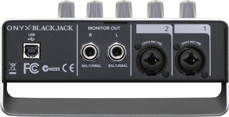 بطاقة / كرت صوت خارجي Mackie Onyx BlackJack USB Audio Interface