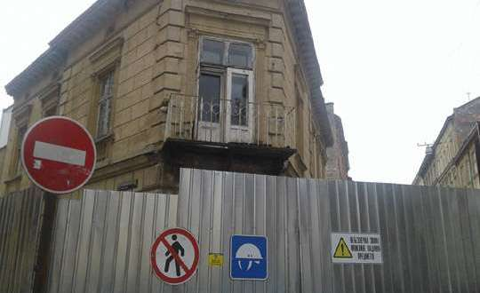 On a site in Lviv attacked