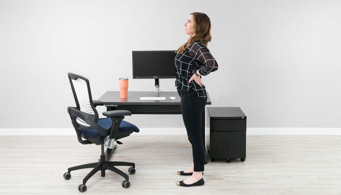 office chair back pain anywhere pottery barn 12 stretches to improve at your desk trunk extension stretch