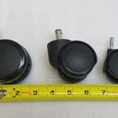 Chair Casters Threaded Stem Chromcraft Table And Chairs The Complete Guide To Office Wheels Caster Sizes