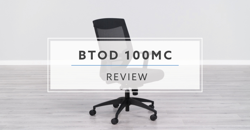 office chair review kid in wheelchair btod 100mc mesh back rating pricing