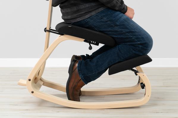 oslo posture chair review and a half sleeper sofa varier thatsit balans knee rating pricing shin comfort