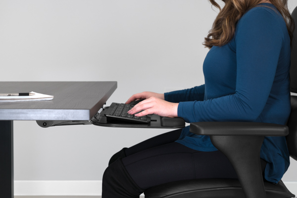 ergonomic chair keyboard position gaming for xbox one top 6 reasons you need to buy an tray positions at correct height