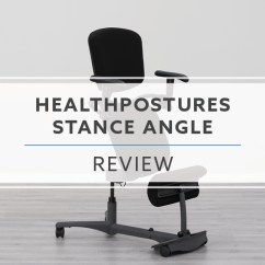 Chair Sit To Stand Exercise Steel Dining Chairs Healthpostures Stance Angle 5100 Chai Review