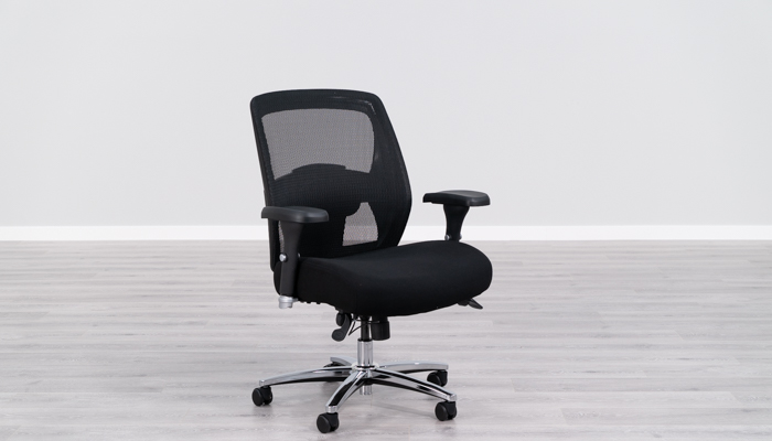 office chair leaning to one side vibrating cushion 21 best reviews for 2019 btod 99 3 big and tall 500 lbs rating