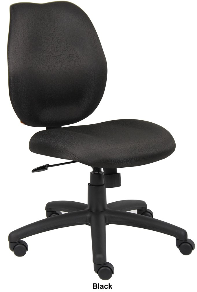 Boss B1016 Discount Armless Computer Chair For Sale