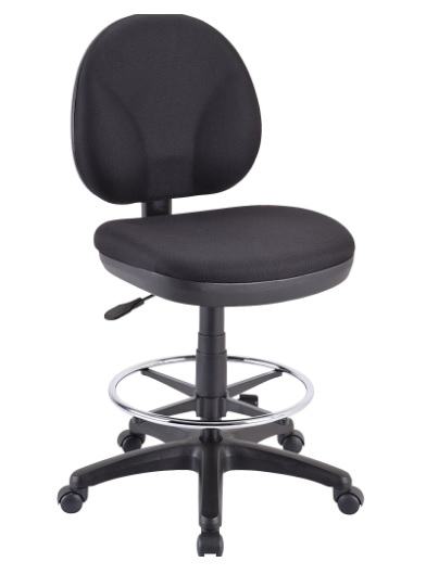 drafting table chairs big lots office eurotech oss400 with dsk500 chair w foot ring 25 5 30 h