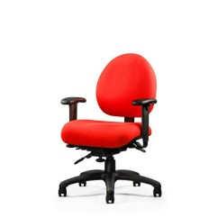 Posture Executive Leather Chair Gym Twister Exercises Neutral E Series Computer Swivel W Arms Ergonomic Desk