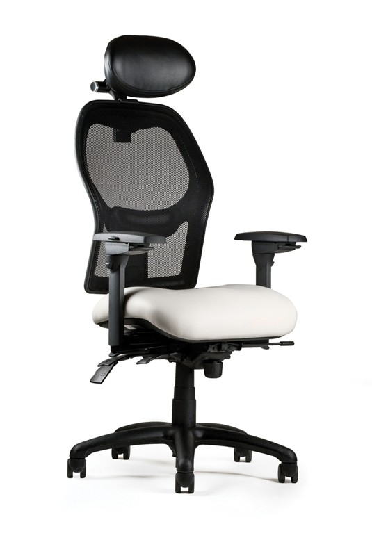 neutral posture chair pub table with chairs mesh ergonomic optional headrest 1000 series back executive