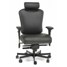 big and tall office chairs child s desk chair set pink best man computer concept seating 3150hr 3152hr operator 24 7 550 lbs rating black fabric