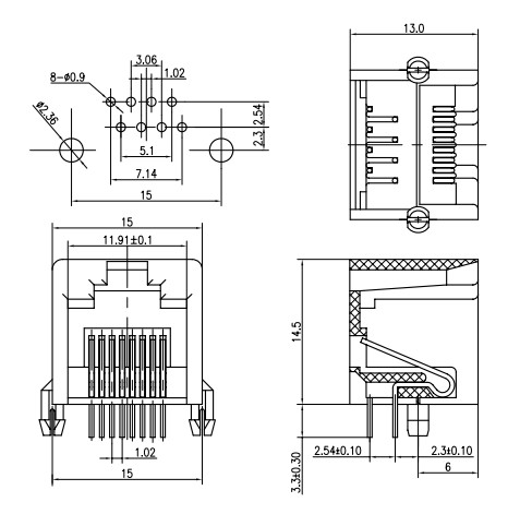 Male Rj11 Jack Wiring Diagram, Male, Free Engine Image For