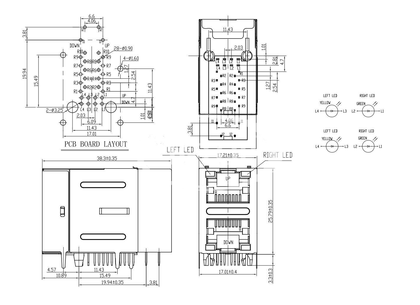 home network schematic