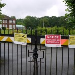 Tadworth gates, 2012