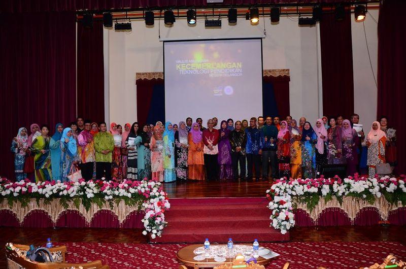 Keputusan Anugerah Kecemerlangan Teknologi Pendidikan 2015