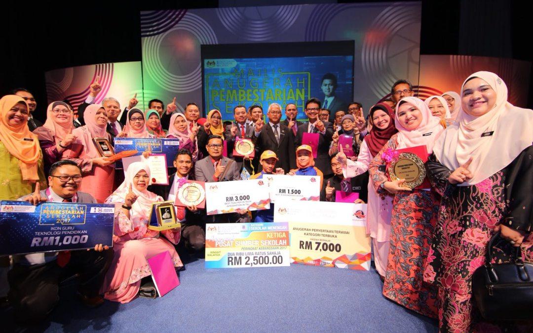 Senarai Pemenang Anugerah Pembestarian Sekolah 2017