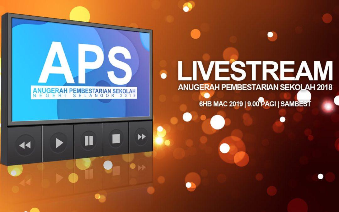 Livestream APS 2018