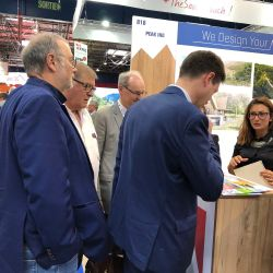 Inauguration des stands à Mountain Planet