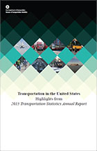 Transportation in the United States Highlights from 2015