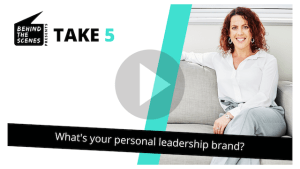 What's your personal leadership brand?