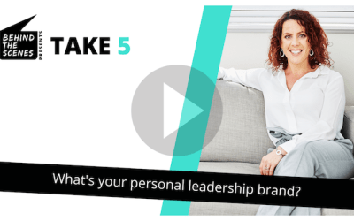 What's your personal brand as a leader?