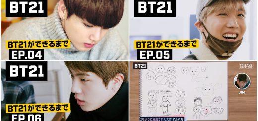 【動画】BT21誕生ストーリー EP4 + EP5 + EP6【BTS日本語字幕】