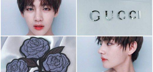防弾少年団(BTS) ファッション チェック!V(テテ) x GUCCI まとめ【GUCCIボーイ】