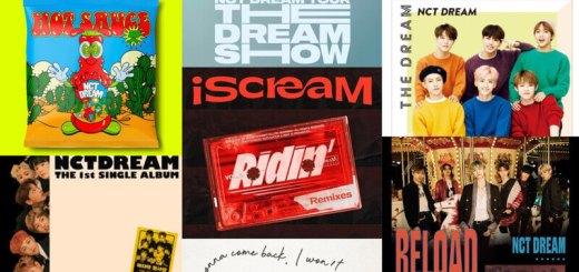 NCT DREAM(エヌシーティー・ドリーム)が今までに出したアルバム一覧・曲