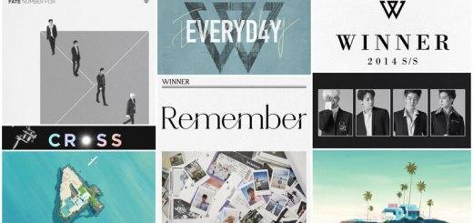 WINNER(ウィナー)が今までに出したアルバム一覧・曲